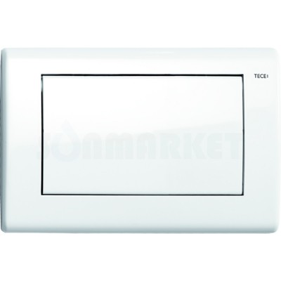 Кнопка смыва для инсталляции с одной клавишей TECEplanus, белая глянцевый