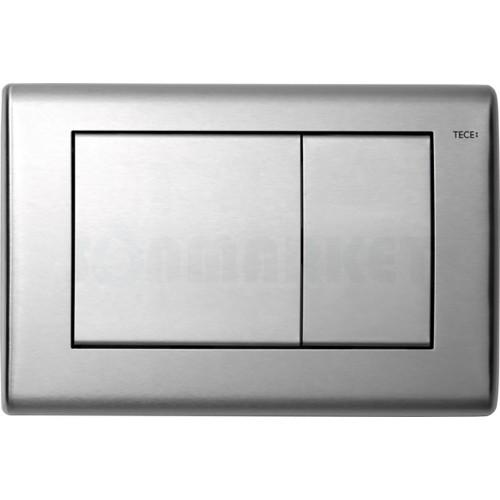 Кнопка смыва для инсталляции с двумя клавишами TECEplanus, нержавеющая сталь, сатин