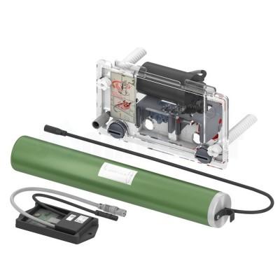 Сливной механизм для инсталляций электрический питание от батарейки 6В TECEprofil