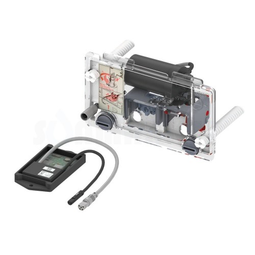 Сливной механизм для инсталляций электрический питание от сети 12В TECEprofil