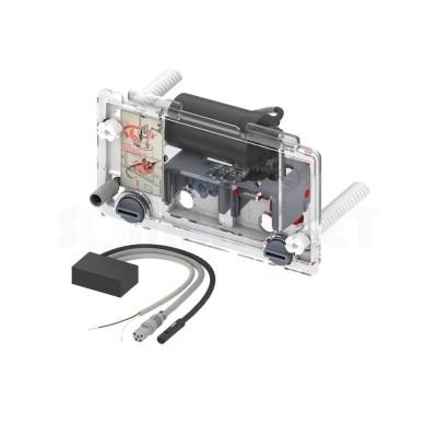 Сливной механизм для инсталляций электрический для проводных кнопок питание от сети 12В TECEprofil