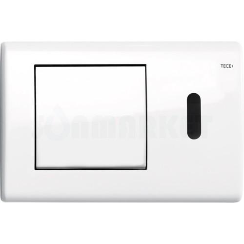 Кнопка смыва для инсталляции с инфракрасным датчиком TECEplanus, белая глянцевый