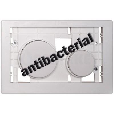 Кнопка смыва для инсталляции модульная антибактериальная, белая TECEloop