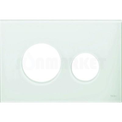 Лицевая панель кнопки инсталляции TECEloop modular стекло, светло-зеленый Emco