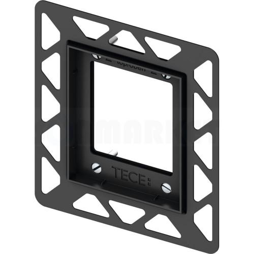Монтажная рамка для монтажа на уровне стены чёрный TECEfilo