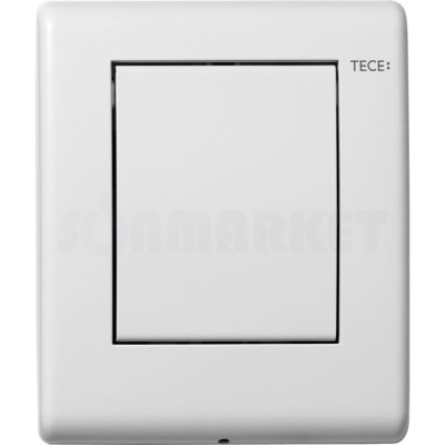 Кнопка смыва для писсуара TECEplanus Urinal, белая матовый