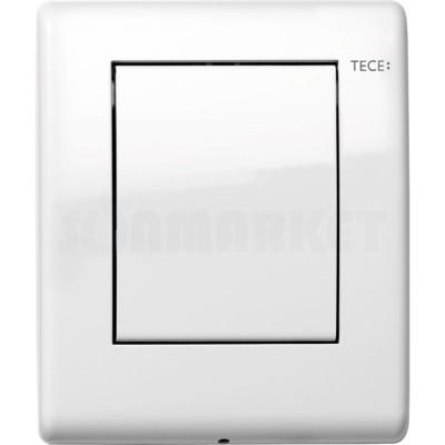 Кнопка смыва для писсуара TECEplanus Urinal, белая глянцевый