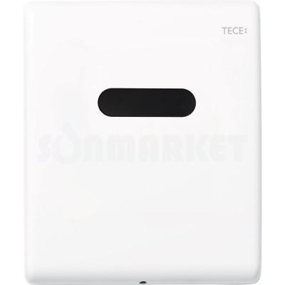 Панель смыва для писсуара с инфракрасным датчиком питание от сети 230/12В белая матовый TECEplanus Urinal