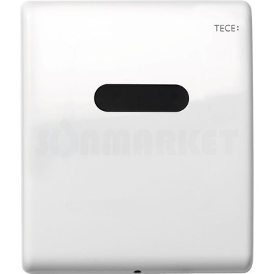 Панель смыва для писсуара с инфракрасным датчиком питание от батареи 6В белая глянцевый TECEplanus Urinal