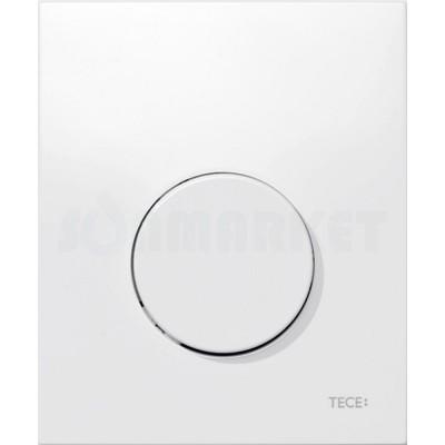 Кнопка смыва для писсуара TECEloop Urinal, пластиковая, белая, антибактериальная