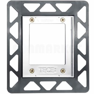 Монтажная рамка для установки стеклянных панелей TECEloop или TECEsquare Urinal на уровне стены белая