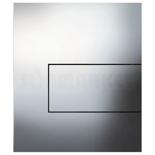 Кнопка смыва для писсуара TECEsquare Urinal, металлическая, хром глянцевый