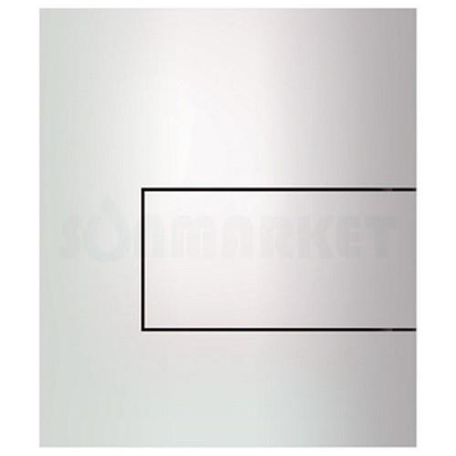Кнопка смыва для писсуара TECEsquare Urinal, металлическая, белая