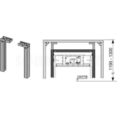 Комплект верхнего крепления инсталляции TECE