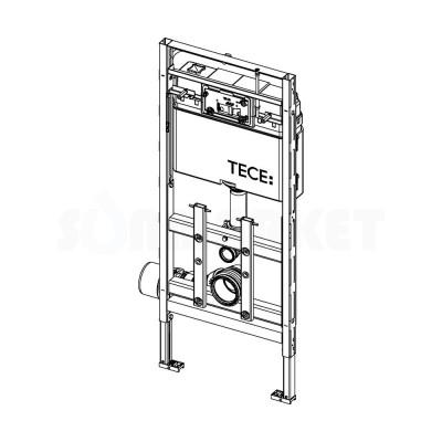 Инсталляция для подвесного унитаза с регулировкой по высоте TECElux 200