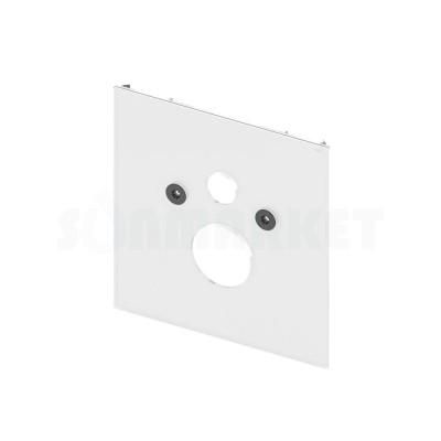 Нижняя панель TECElux для установки стандартного унитаза стекло белое
