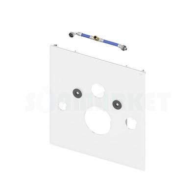 Нижняя панель TECElux для установки унитазов-биде TOTO Neorest AC/EW и Geberit AquaClean 8000/8000 plus стекло белое