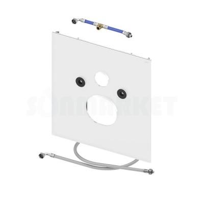 Нижняя панель TECElux для установки унитазов-биде Duravit Senso Wash C/Wash Slim или V&B ViClean L стекло белое