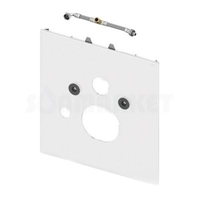 Нижняя панель TECElux для установки унитазов-биде Geberit Aquaclean Sela/Mera, TOTO Washlet EK/GL, Grohe Sensia или V&B ViClean U+ стекло белое