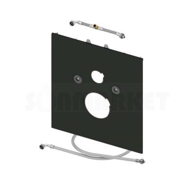 Нижняя панель TECElux для установки унитазов-биде Duravit Senso Wash C/Wash Slim или V&B ViClean L стекло чёрное