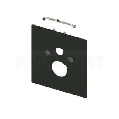 Нижняя панель TECElux для установки унитазов-биде Geberit Aquaclean Sela/Mera, TOTO Washlet EK/GL, Grohe Sensia или V&B ViClean U+ стекло чёрное