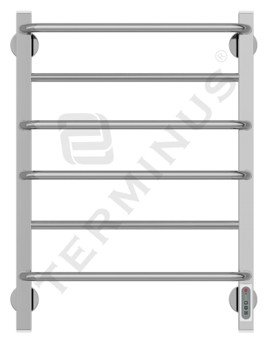 Полотенцесушитель электрический Евромикс квадро П6 85 Вт (650x480)
