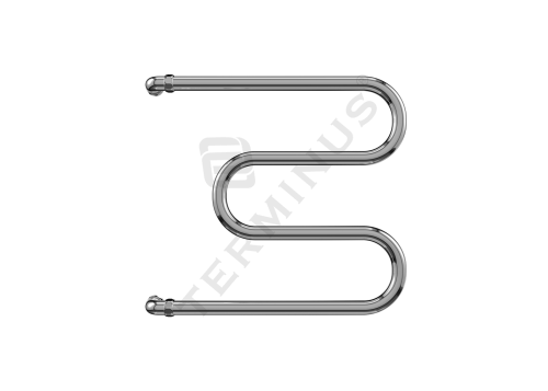 """Полотенцесушитель водяной М-обр  диаметр трубы 1"""" 215 Вт/ч (532x700)"""