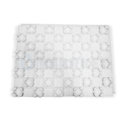 Плита для теплого пола термоизоляционная с фиксаторами трубы 800 х 600 х 45 Format FT 25/45 PEX